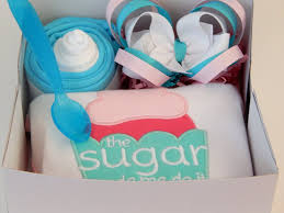 sweet baby shower gift box all in one for girls u2013 colorfulbows