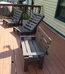 Diy Wooden Deck Chairs by 115 Best Home Diy With Pallets Images On Pinterest Balcony