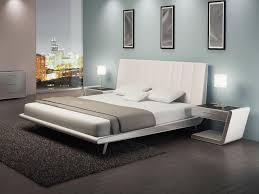 Modern Wood Bed Frame Zina Modern Platform Bed Elite Modern