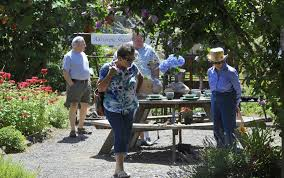 Clark Botanical Gardens Garden Galore At Brush Prairie Event The Columbian