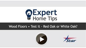 expert tips oak vs white oak flooring