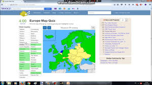 Western Europe Map Quiz by Europe Map Quiz Youtube