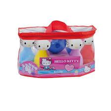 boliche infantil 6 pinos kitty 2005 brinquedos anjo