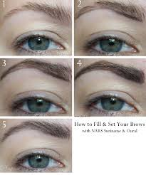 How To Pencil In Eyebrows Nars Brow Perfector Review