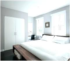 gray walls in bedroom light grey paint color with white furniture and decor for a clean