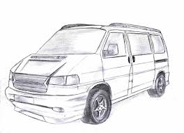 volkswagen bus drawing vwtransporter explore vwtransporter on deviantart