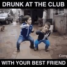 drunk friend memes gifs tenor