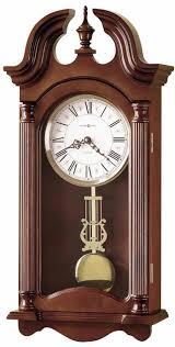 Wall Clocks Howard Miller 625 253 Everett Chiming Wall Clock With Free Shipping