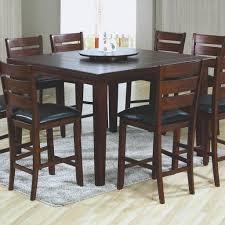 5 Piece Pub Table Set Kitchen Table Kitchen Bar Table Tall Kitchen Table Black High