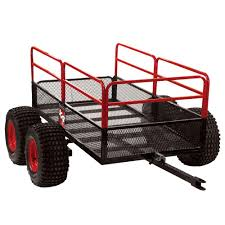offroad trailer yutrax x4 atv off road trailer tx159 the home depot