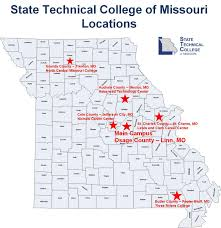 Missouri State Campus Map by Map U0026 Directions State Technical College Of Missouri