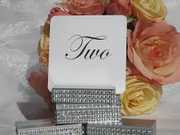 wedding table number holders table number holder silver wedding table number holder