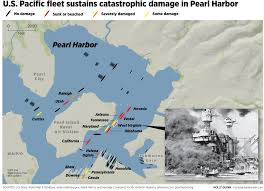 Pearl Harbor Map Japanese Raid On Pearl Harbor The Spokesman Review