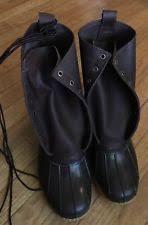 s bean boots size 11 l l bean winter wide e w boots for ebay