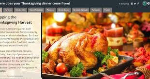 free technology for teachers mapping the thanksgiving harvest