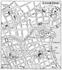 Shanghai Map Map Of Shanghai 1932 Carter U0027s Room Pinterest Shanghai And