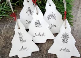 personalized ornaments holidays decoration