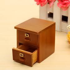 Living Room Wood File Cabinet 1 12 Vintage Miniature Wooden File Cabinet Living Room Accessories