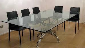 tavoli per sale da pranzo tavoli in cristallo