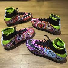 s nike football boots australia the nike mercurial superfly boots of indigenous australian player
