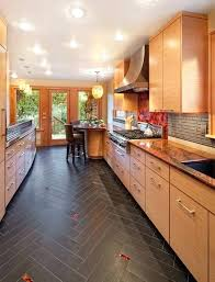tile kitchen floors ideas kitchen flooring ideas pros cons and cost of each option throughout