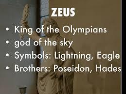 olympian gods by michael braun
