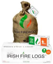 irish fire logs irish peat irish turf and fireplace accessories