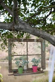 Upcycled Garden Decor Recycling Old Wood Doors And Windows For Outdoor Home Decorating