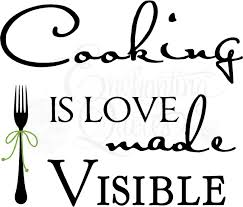 kitchen decals kitchen wall quotes cooking is love made visible