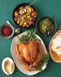 easy thanksgiving menus martha stewart