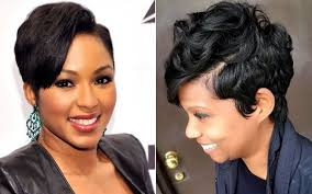 short hairstyles for black women 2017 trending haircut for black women with natural hair 2017 with perm