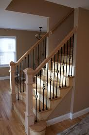Wooden Stair Banisters And Railings Same Spindles I Need To Get Home Theater Pinterest Wood