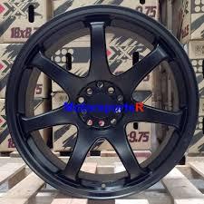 nissan 350z xxr 527 xxr 551 wheels 18 36 flat black staggered rims concave 5x114 3