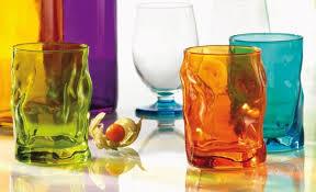 bicchieri colorati bormioli i bicchieri in vetro pi禮 colorati e originali da bormioli
