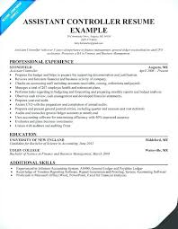 controller resume exle resume of financial controller sle financial controller resume