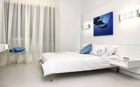 Modern White Bedroom Ideas Bedroom White Bedroom With Blue Accents Peroconlagr Blue Accent