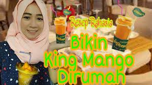 Mango Bomb resep rahasia king mango thai mango bomb bisa bikin dirumah
