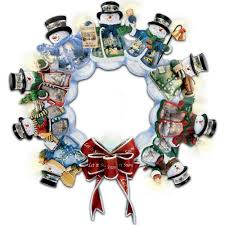 kinkade wreath