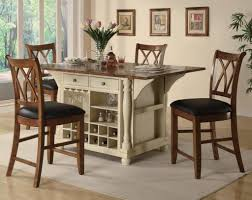 Bar Stool Kitchen Island by Beautiful 4 Stool Kitchen Island With Making Counter Height Bar