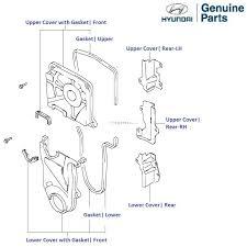 hyundai accent timing belt accent viva 1 6 petrol timing belt cover