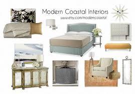 Modern Coastal Interior Design Master Bedroom By Modern Coastal Interiors By Amylcornell Olioboard