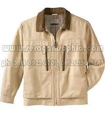 desain jaket warna coklat jaket seragam perusahaan jacket casual jaket kantor desain jaket