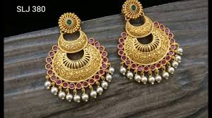 chandbali earrings designer chandbali earrings collections