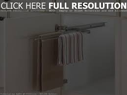 kitchen towel rack under sink chrison bellina