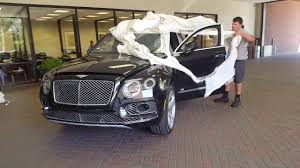 new bentley truck interior 2017 bentley bentayga arrival youtube