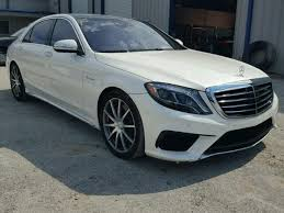 mercedes s63 amg for sale rebuildable 2015 mercedes s63 amg for sale in tx houston