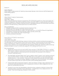 Example Career Objective Resume by High Resume Objective Examples Resume For Your Job