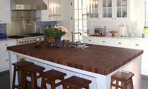 kitchen cute kitchen island with seating butcher block stools
