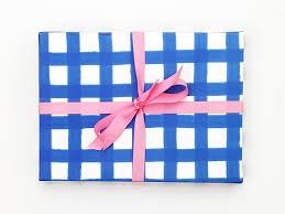 gingham wrapping paper blue gingham wrapping paper blue and white gift wrap birthday