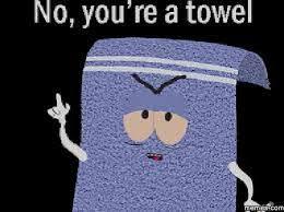Towel Meme - phish net lights towel